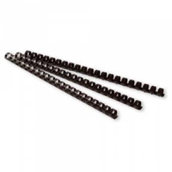 Пружины для переплета пластиковые Buro d=8мм A4 белый (100шт) BU-203w