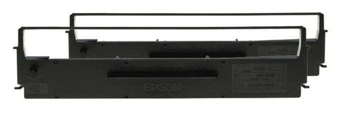 Картридж матричный Epson C13S015614 C13S015614BA черный набор для Epson LX-300/300+
