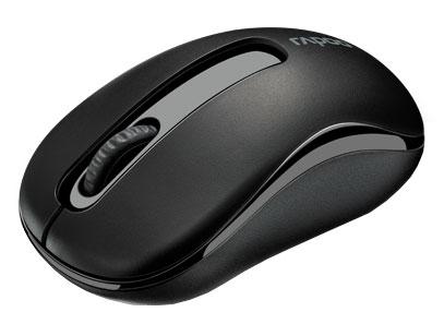 Мышь Rapoo M10 черный оптическая (1000dpi) беспроводная USB (2but)